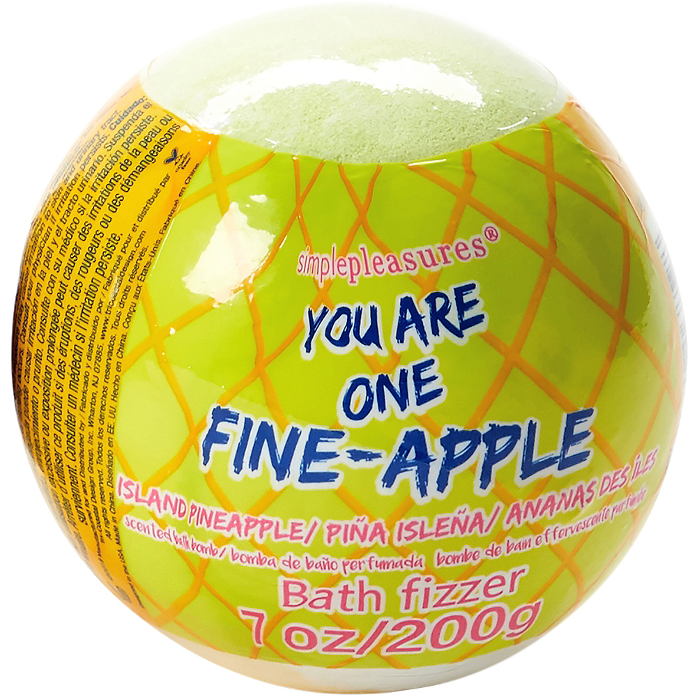 Pineapple Bath Bomb Image #2
