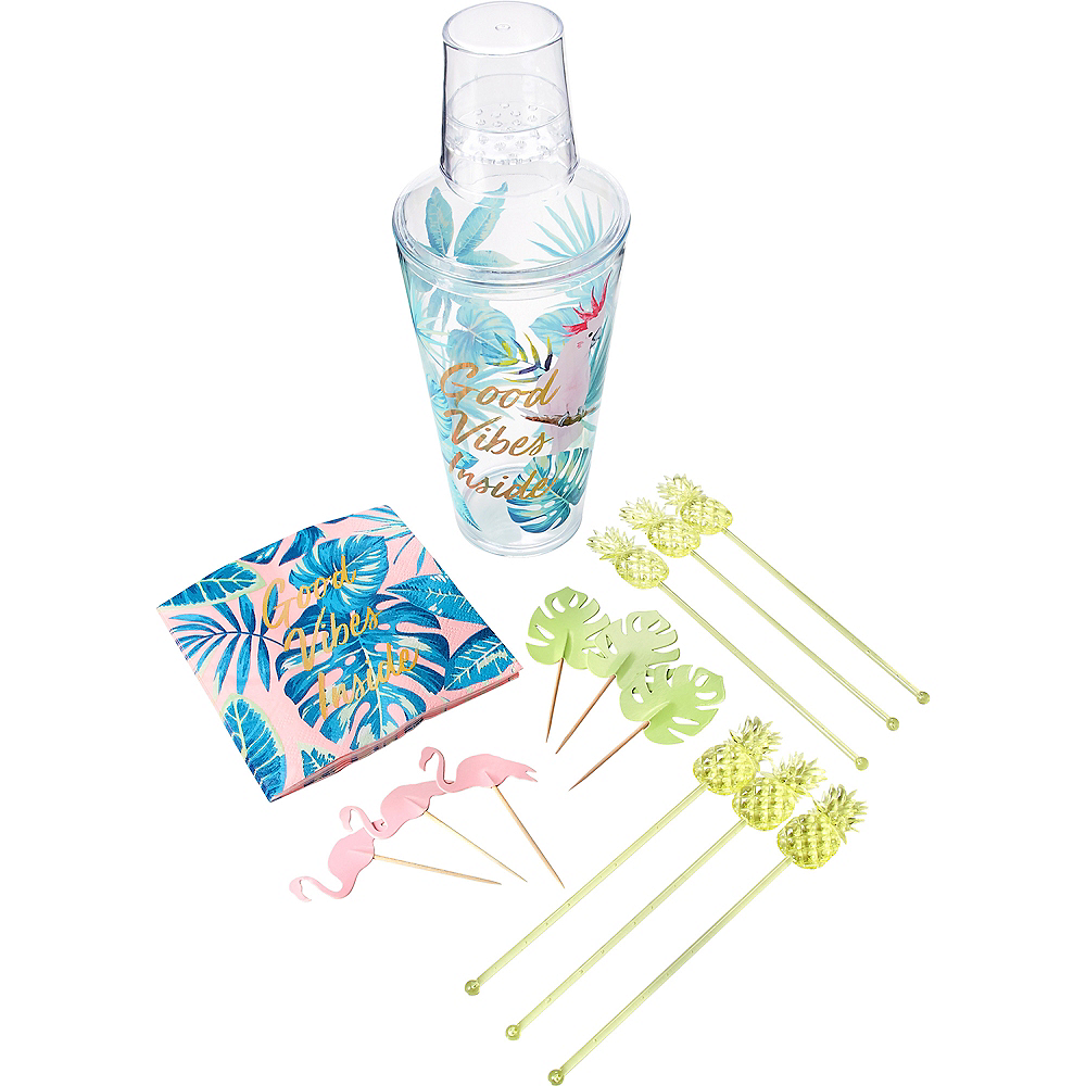 Tropical Cocktail Shaker Set 19pc Image #2