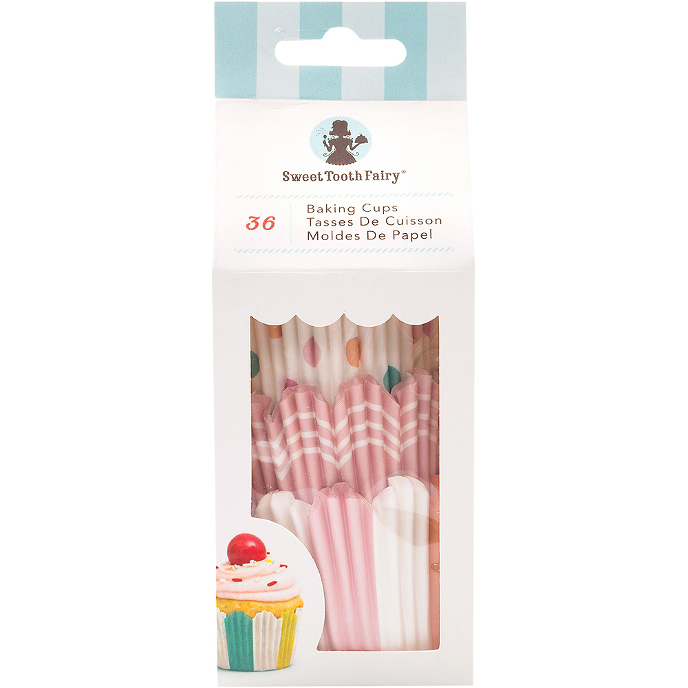 Sweet Tooth Fairy Pastel Baking Cups 36ct Image #1