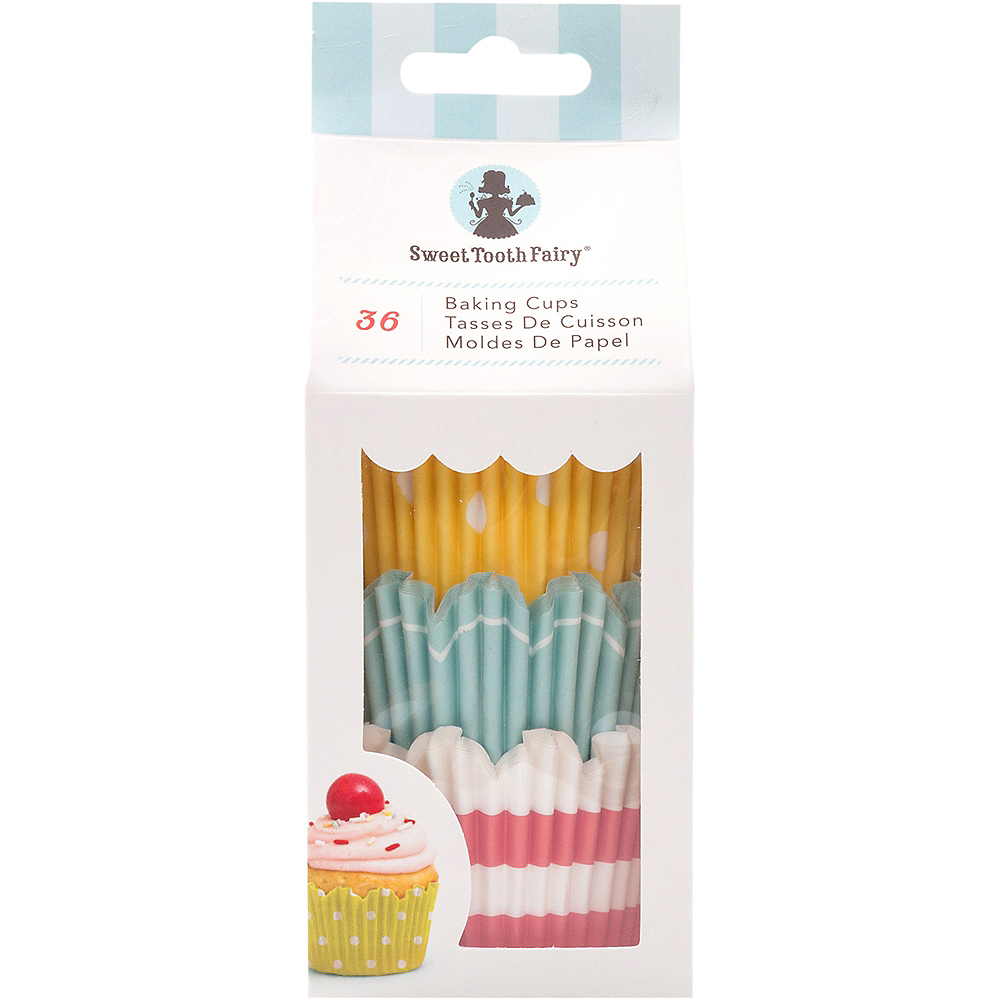 Sweet Tooth Fairy Bright Baking Cups 36ct Image #1