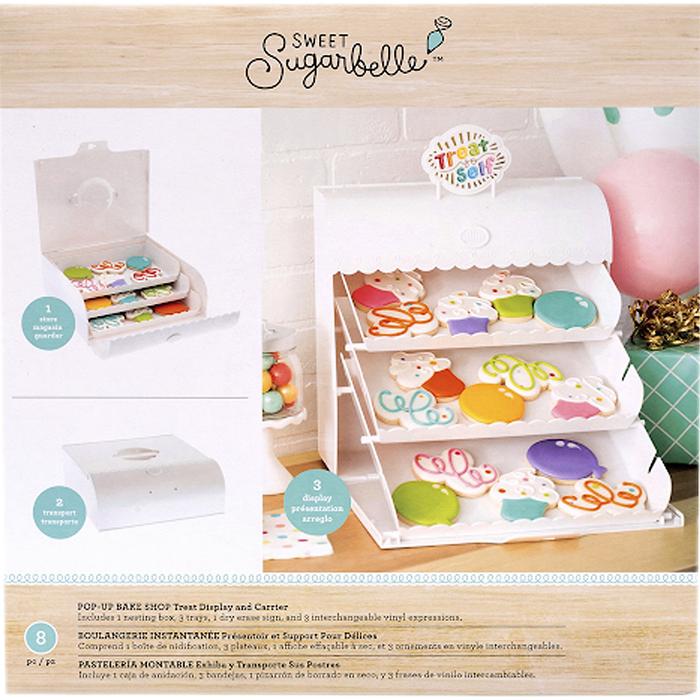 Sweet Sugarbelle Pop-Up Treat Display & Carrier 8pc Image #1