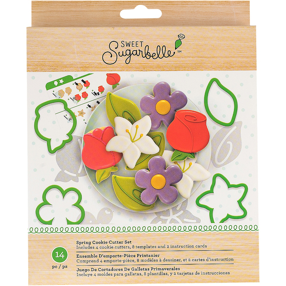 Sweet Sugarbelle Spring Cookie Cutter Set 14pc Party City