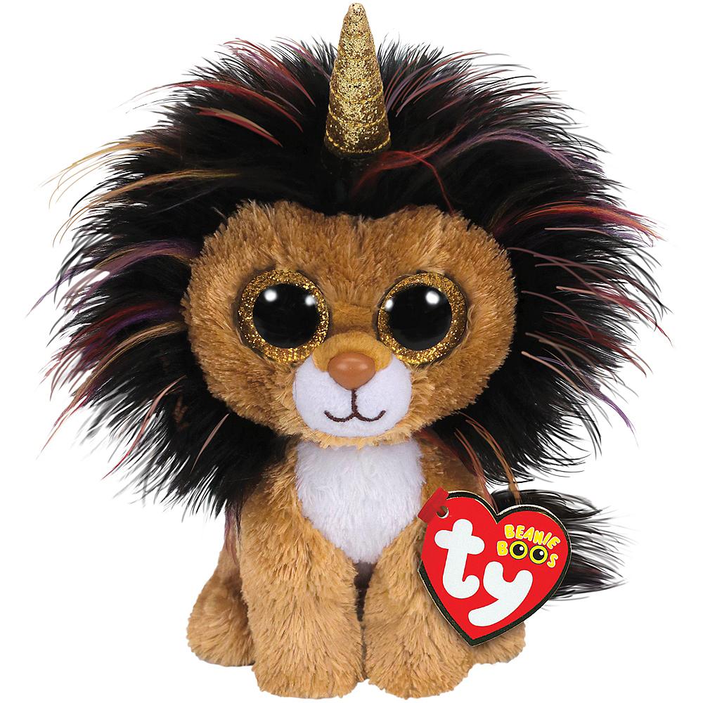 Ramsey Beanie Boo Unicorn Lion Plush Image #1