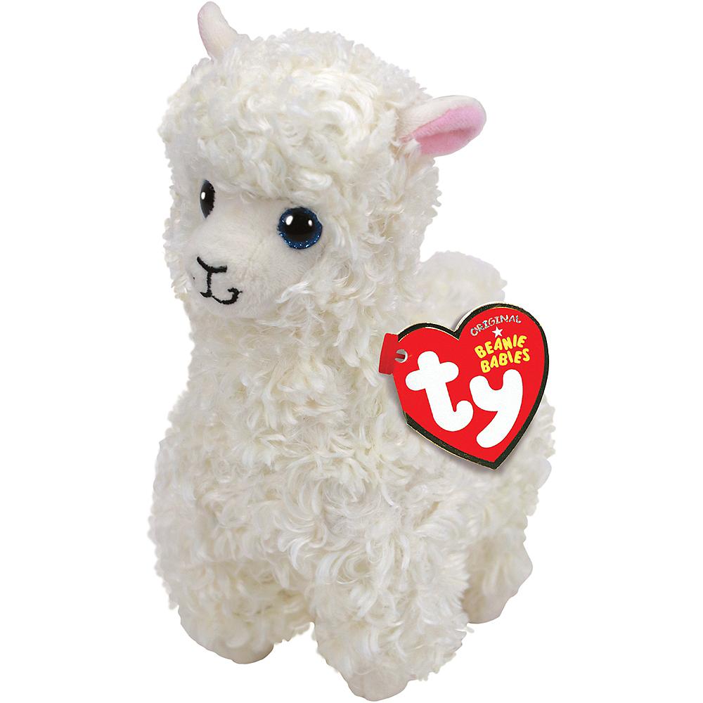 Lily Beanie Babies Llama Plush Image #1
