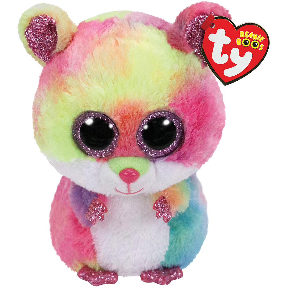 Nav Item for Rodney Beanie Boo Hamster Plush Image #1