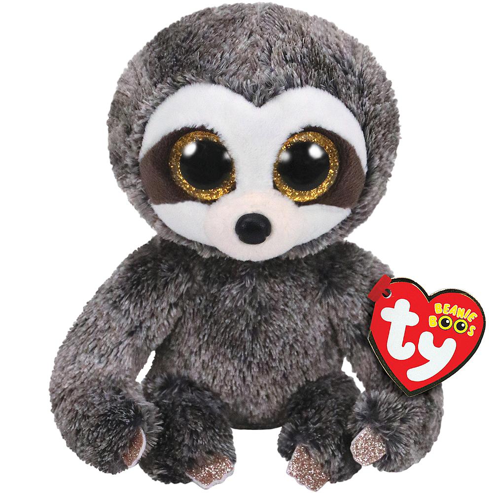 Dangler Beanie Boo Sloth Plush Image #1