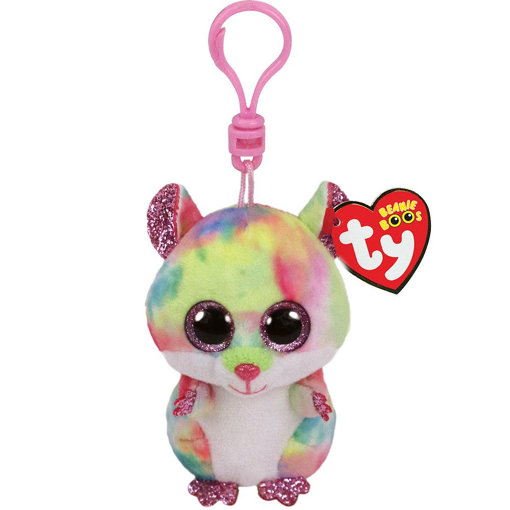 Clip-On Rodney Beanie Boo Hamster Plush Image #1