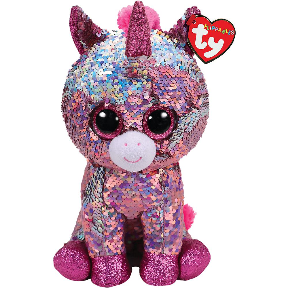 Sparkle Flippables Unicorn Plush Image #1