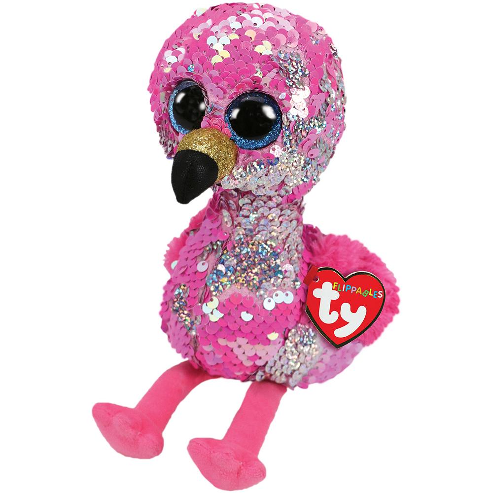 Pinky Flippables Flamingo Plush Image #1