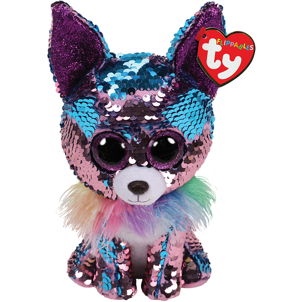 Mini Yappy Flippables Dog Plush Image #1