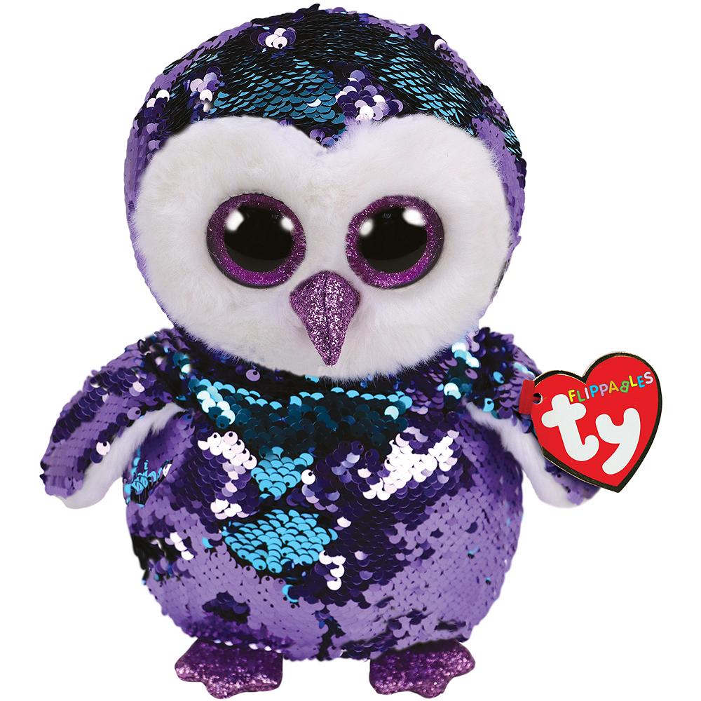 Moonlight Flippables Owl Plush Image #1