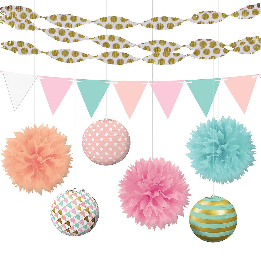 Pastel Hanging Decorating Kit Image #1