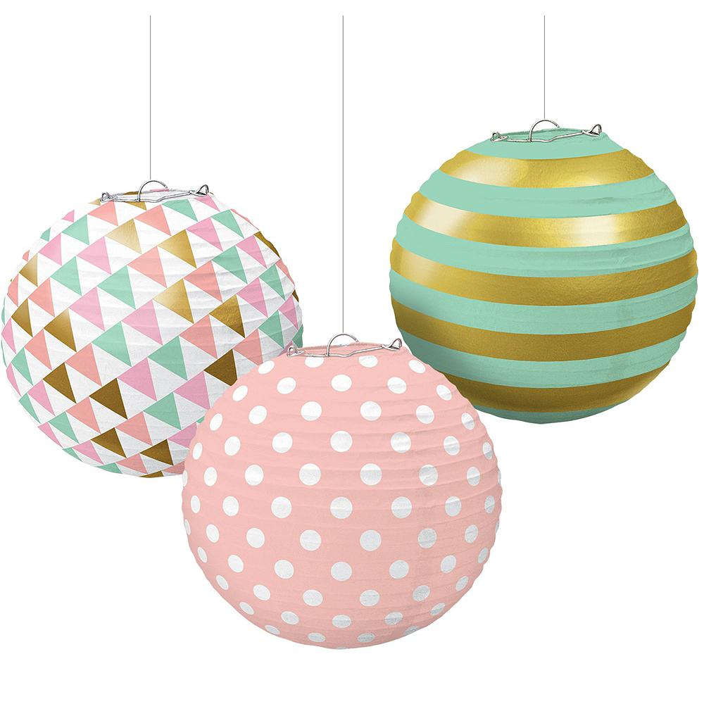 Pastel Hanging Decorating Kit Image #3