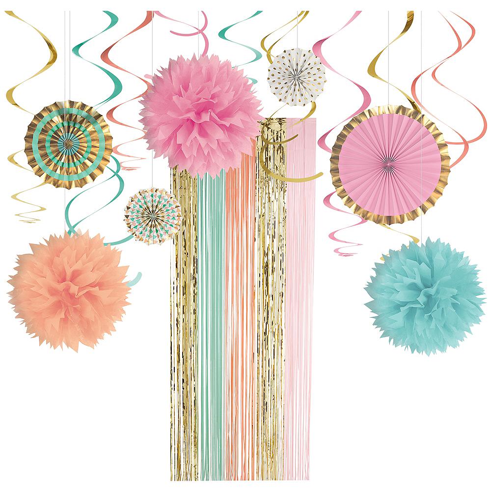 Pastel Door Decorating Kit Image #1