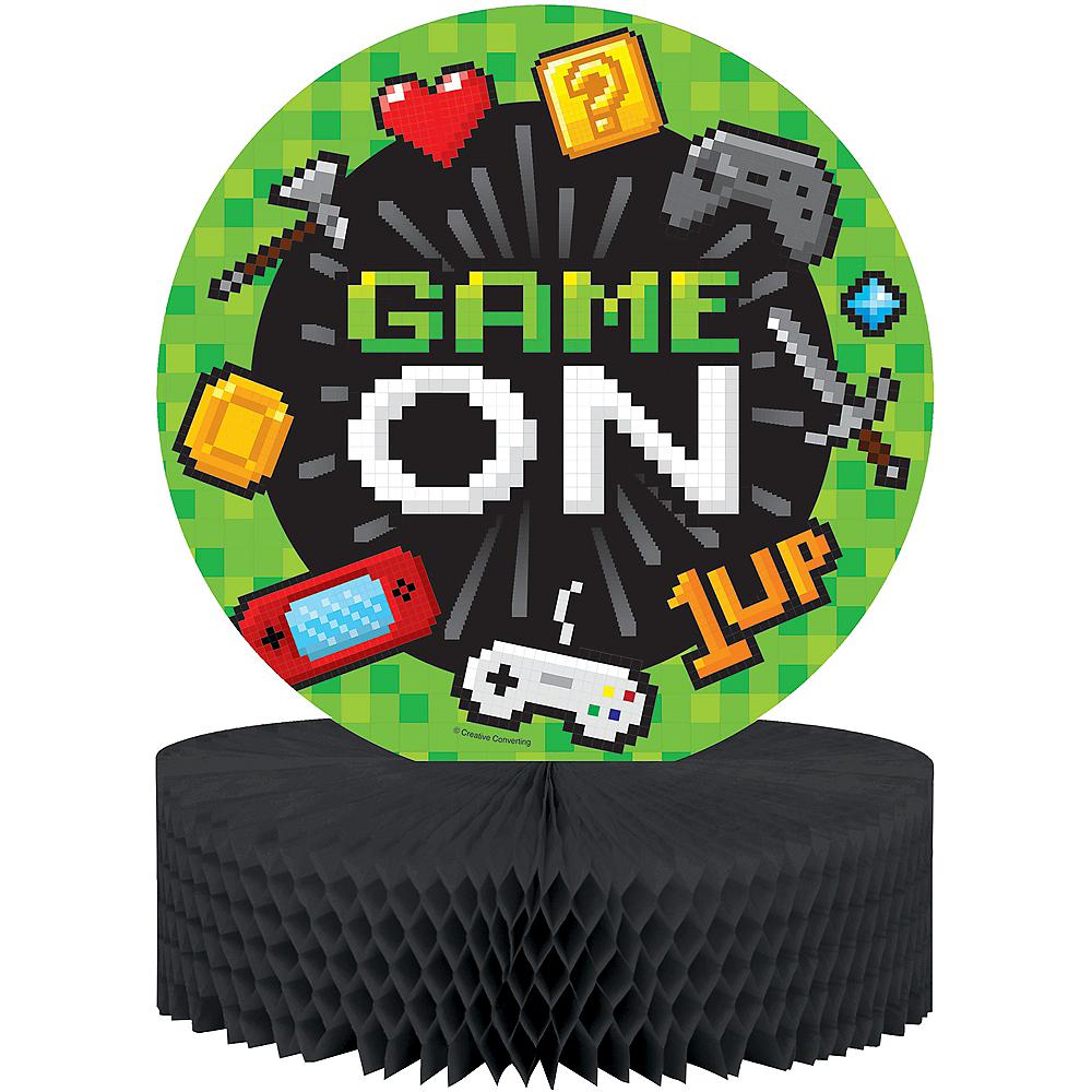 Video Game Honeycomb Centerpiece Image #1