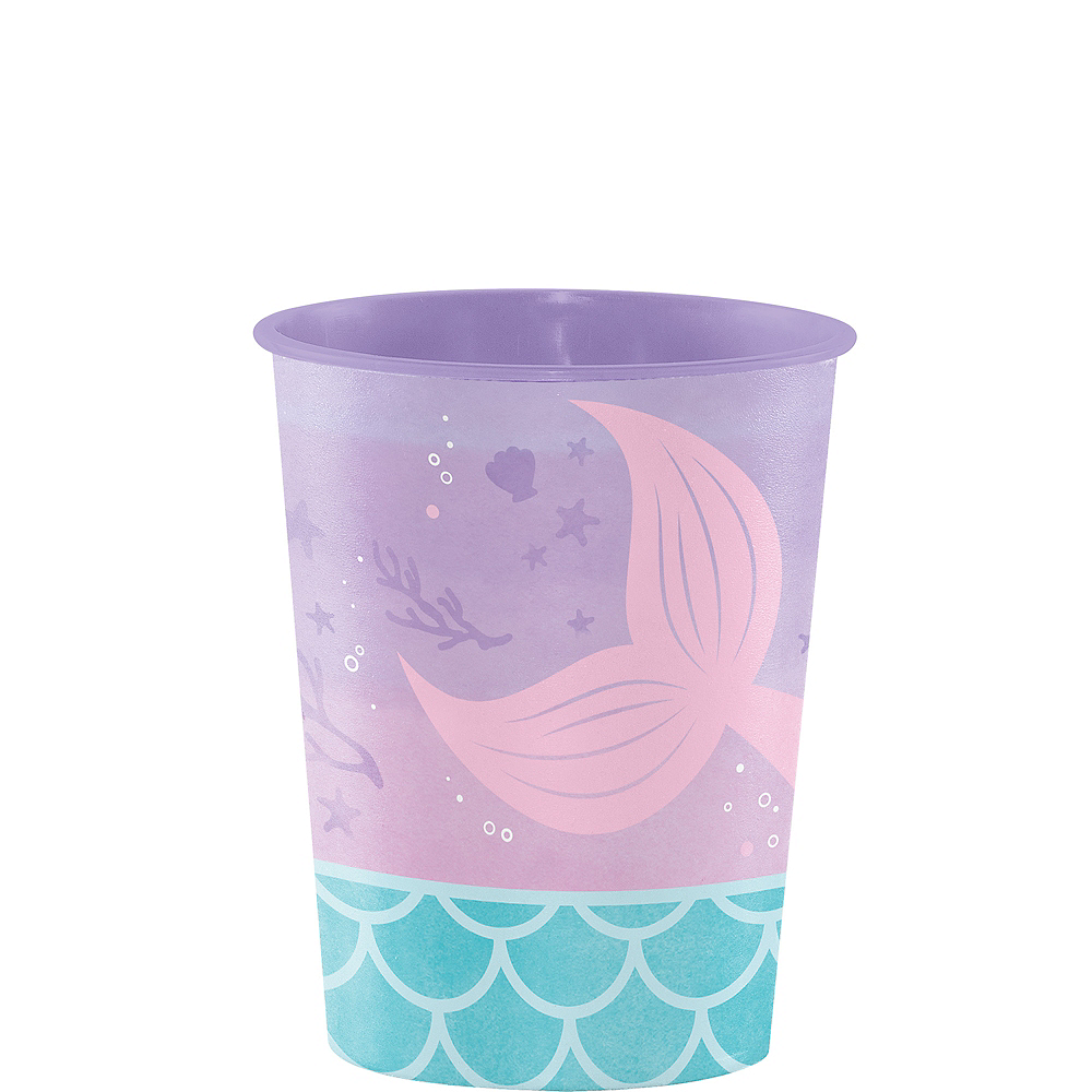 Shimmer Mermaid Favor Cup Image #1