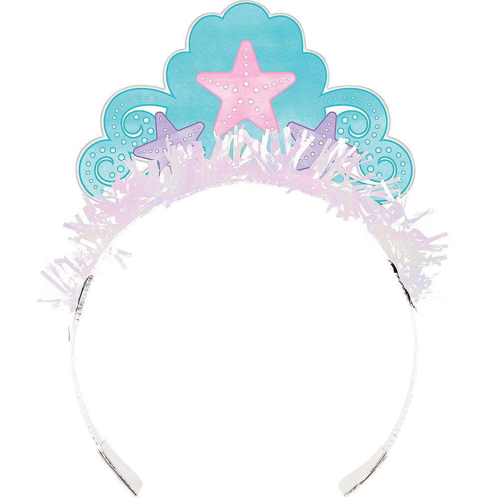 Shimmer Mermaid Tiaras 8ct Image #1