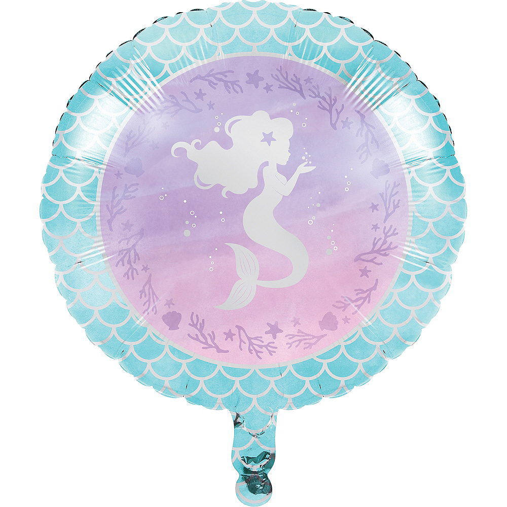 Shimmer Mermaid Balloon, 18in Image #1