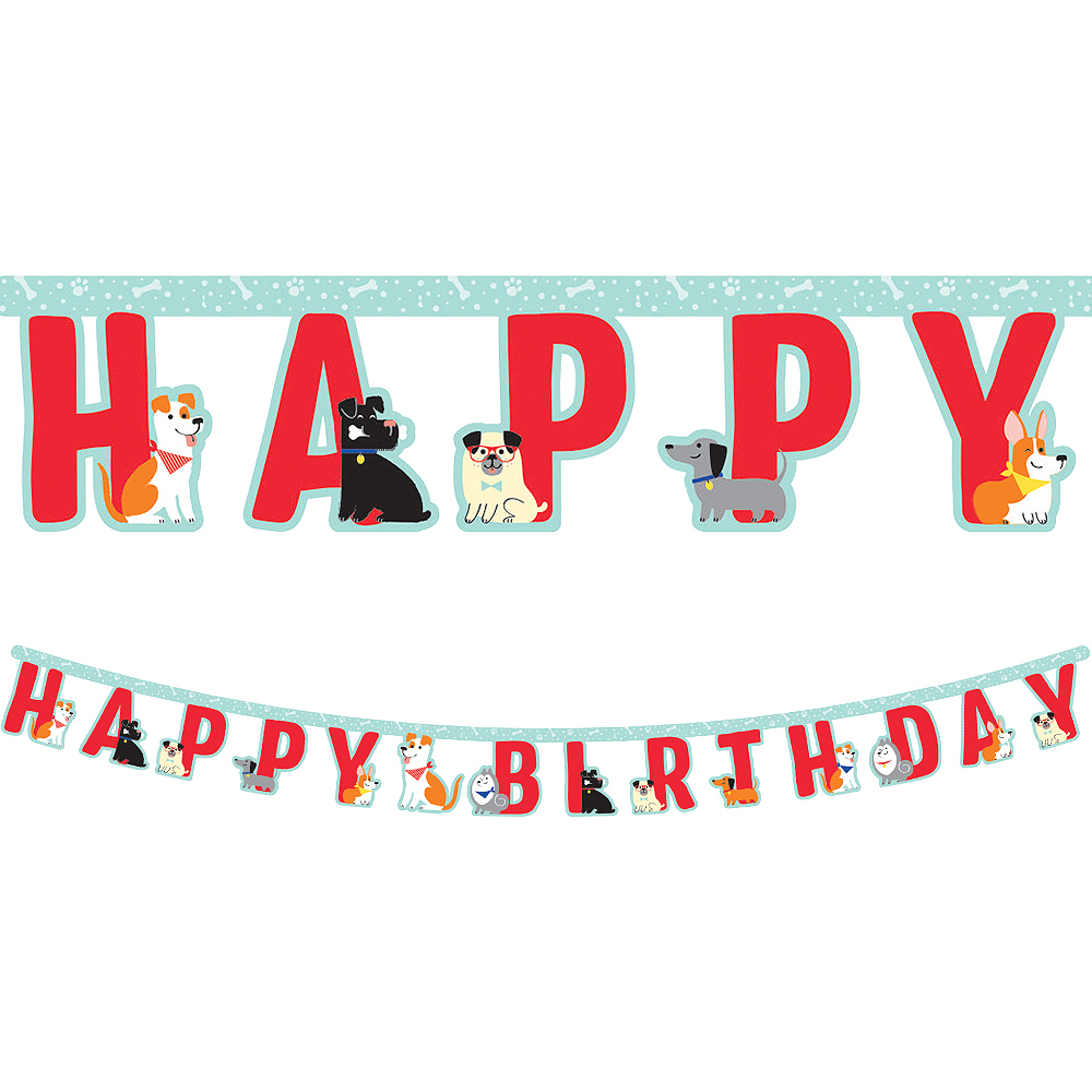 Dog Birthday Banner Image #1