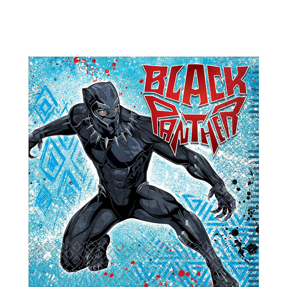 Black Panther Party Kit for 16 Guests Image #9