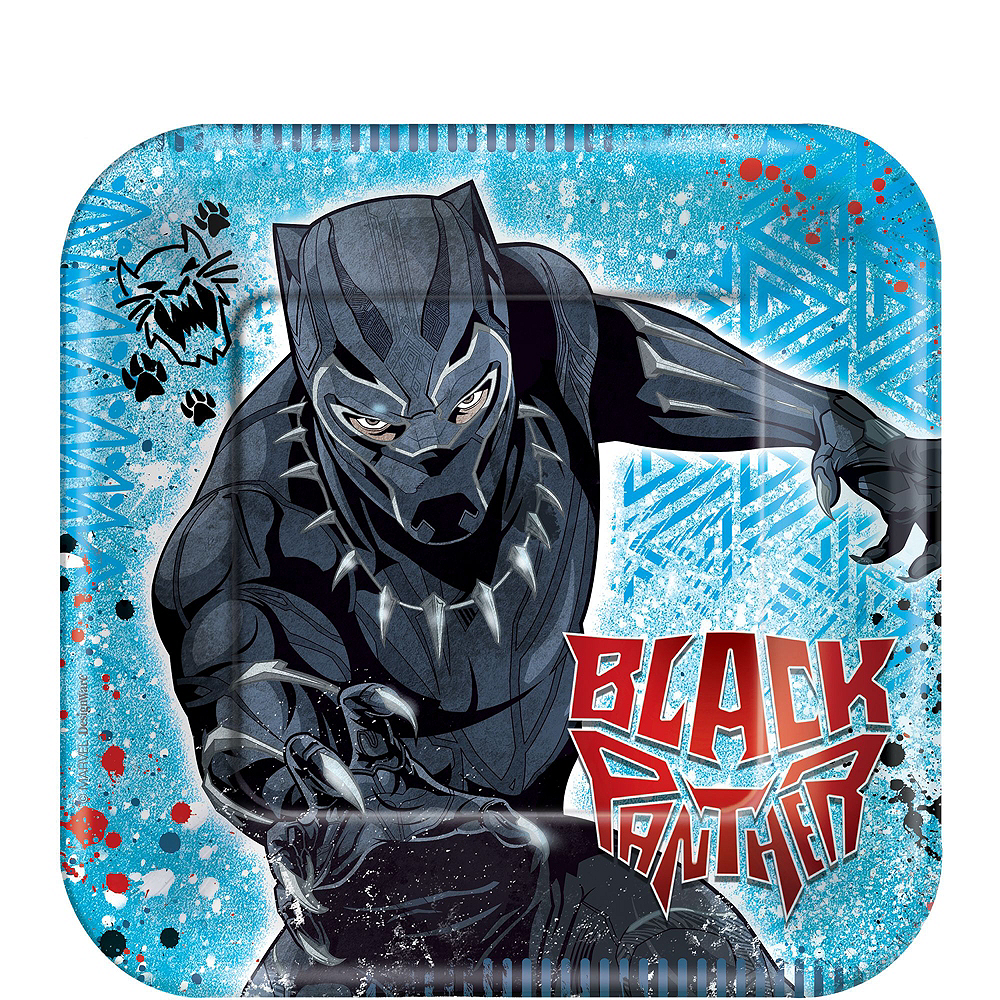 Ultimate Black Panther Party Kit for 16 Guests Image #2