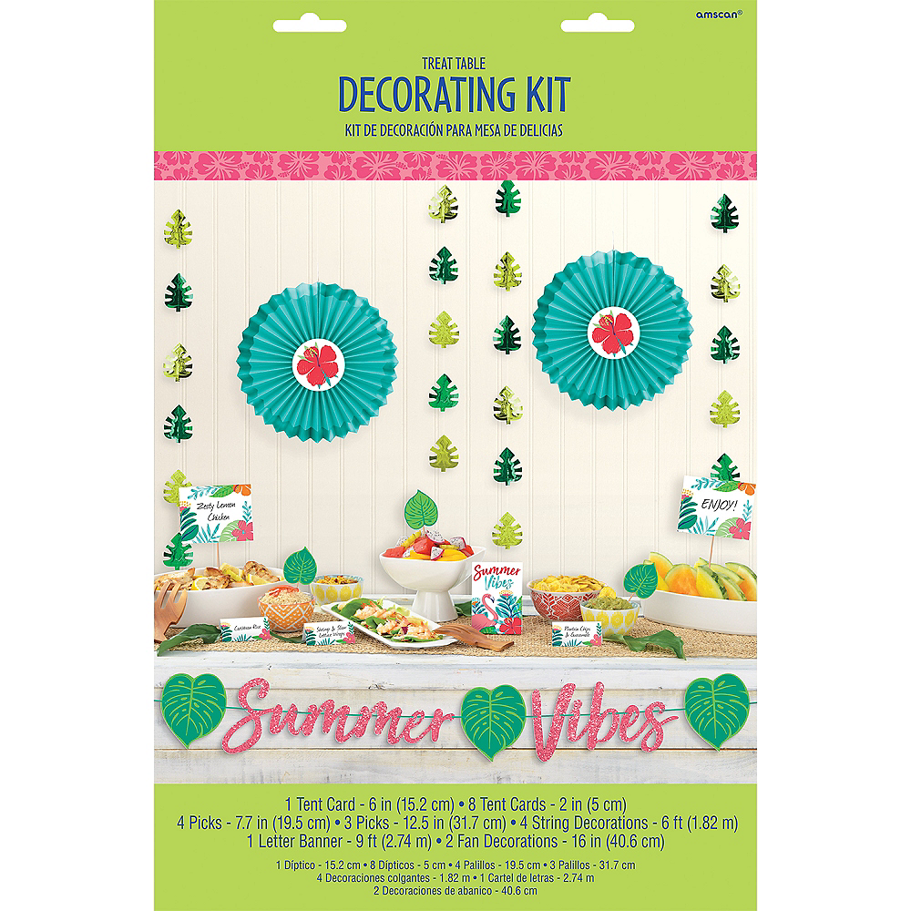 Tropical Jungle Buffet Decorating Kit 23pc Image #2