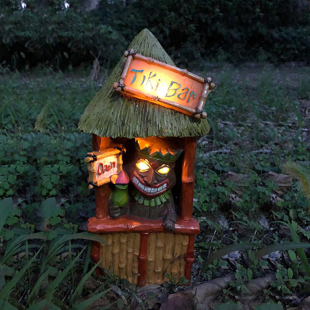Solar Tiki Bar Light Image #2
