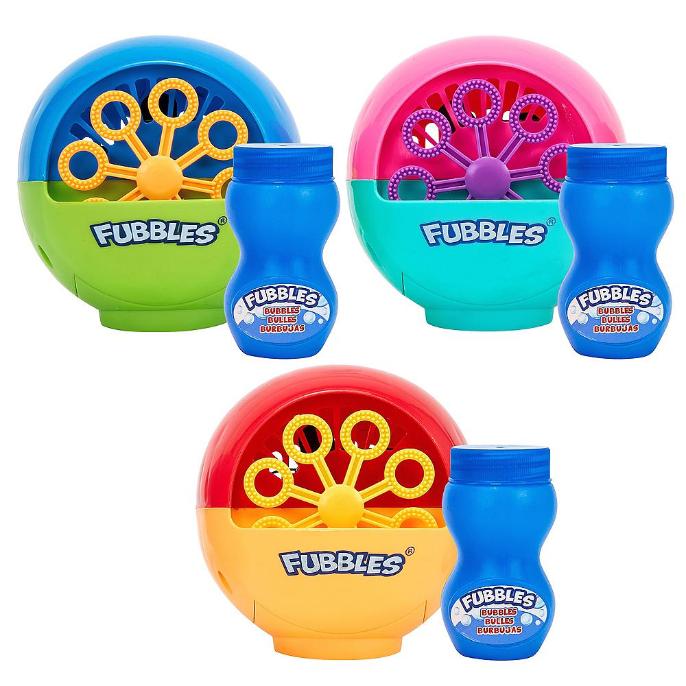 Fubbles Mini Bubble Machine Image #1