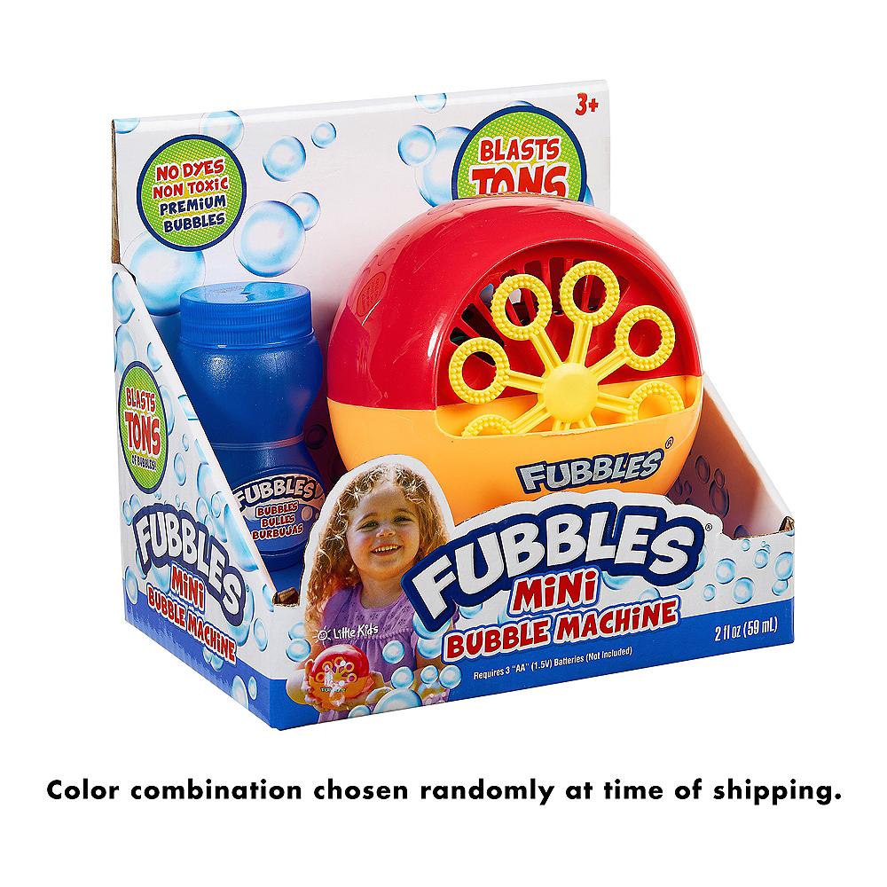 Fubbles Mini Bubble Machine Image #2