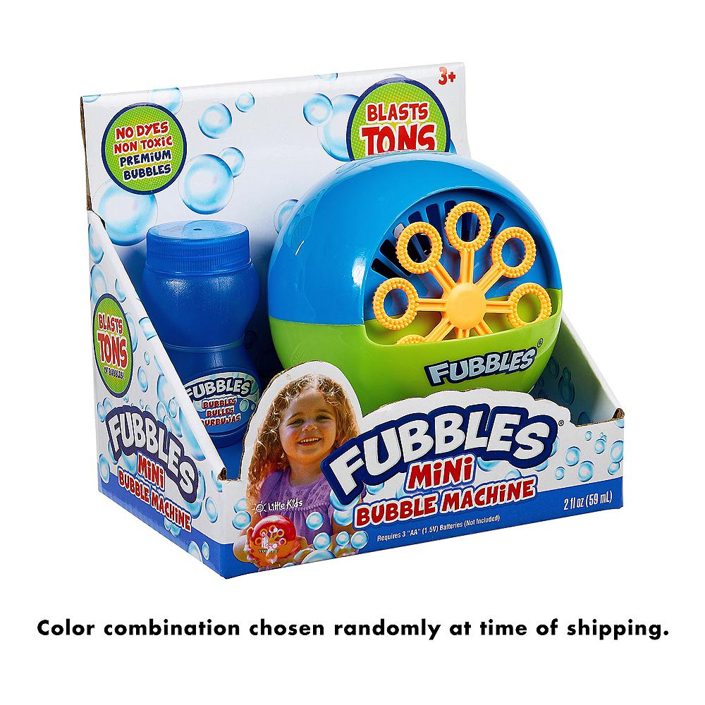 Fubbles Mini Bubble Machine Image #3