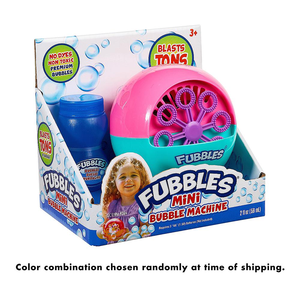 Fubbles Mini Bubble Machine Image #4