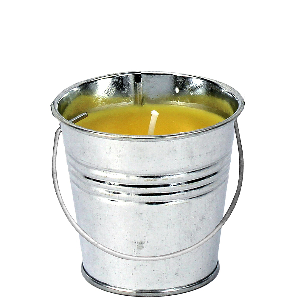 Nav Item for Mini Silver Citronella Candle Pail Image #1