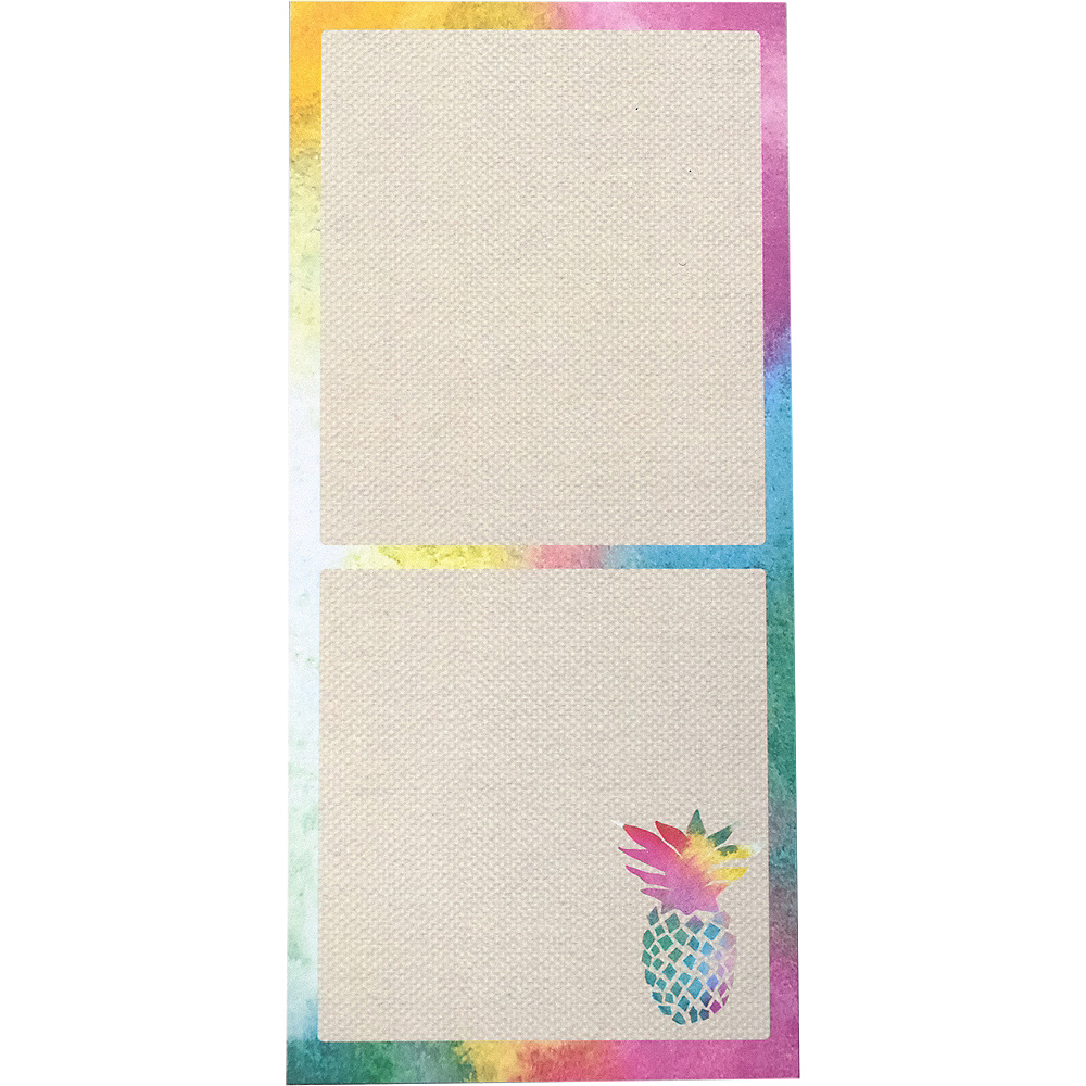 Colorful Pineapple Magnet List Pad Image #1