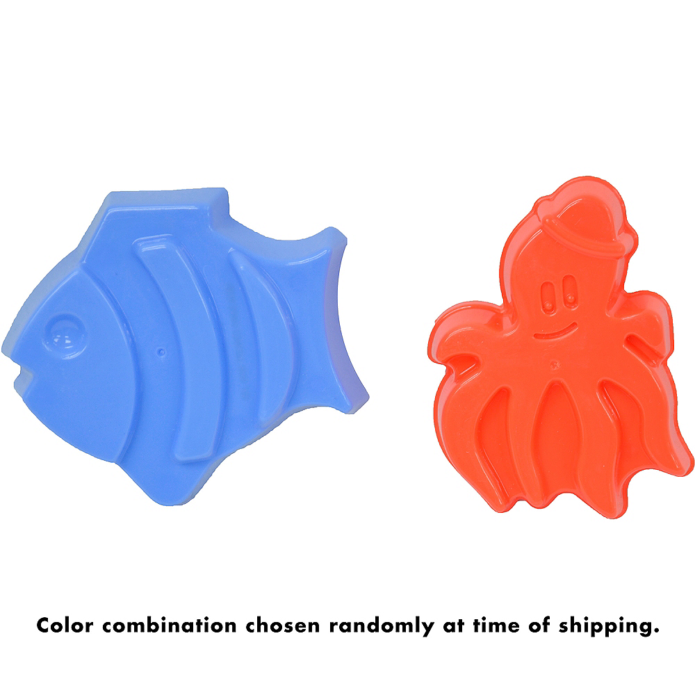 Nav Item for Fish & Octopus Sand Mold Set 2pc Image #2