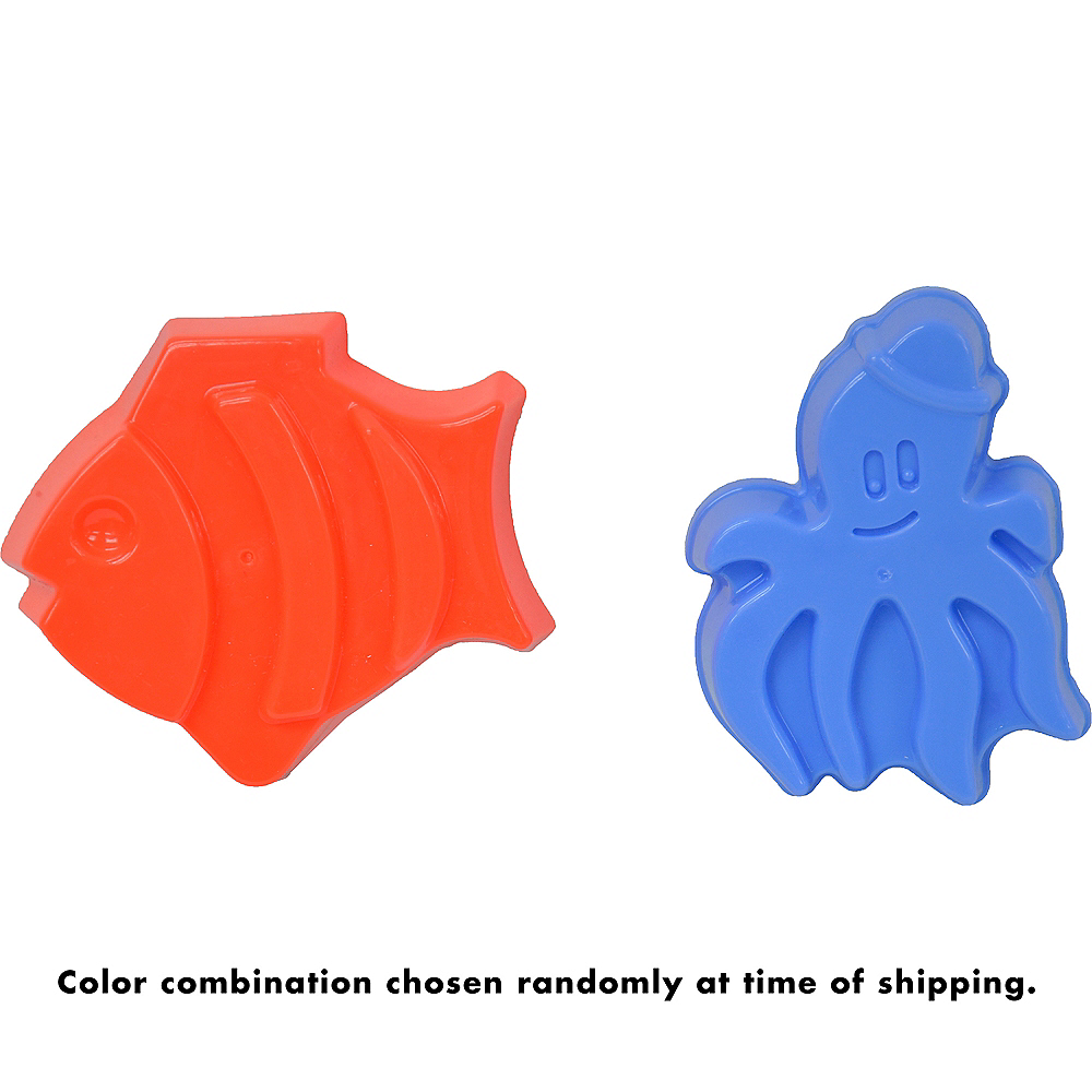 Nav Item for Fish & Octopus Sand Mold Set 2pc Image #3