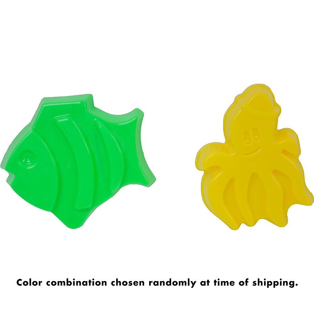 Nav Item for Fish & Octopus Sand Mold Set 2pc Image #4