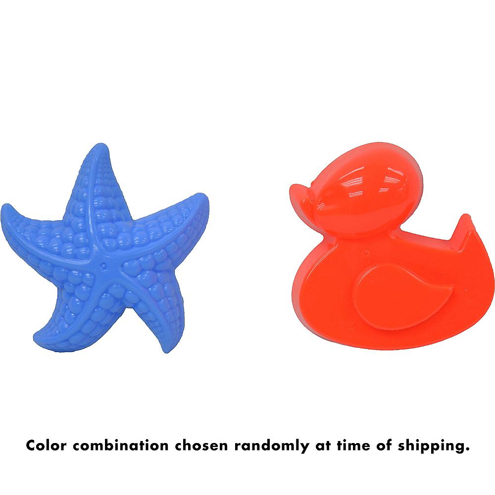 Duck & Starfish Sand Mold Set 2pc Image #2
