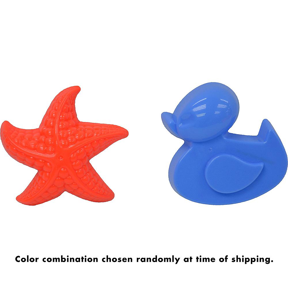 Duck & Starfish Sand Mold Set 2pc Image #3