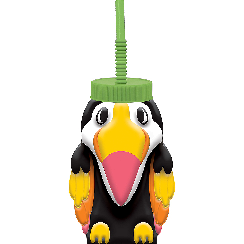 Toucan Cup with Straw Image #1