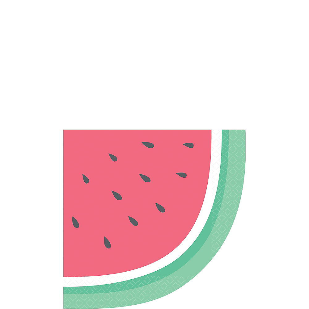 Just Chillin' Watermelon Lunch Napkins 16ct Image #1