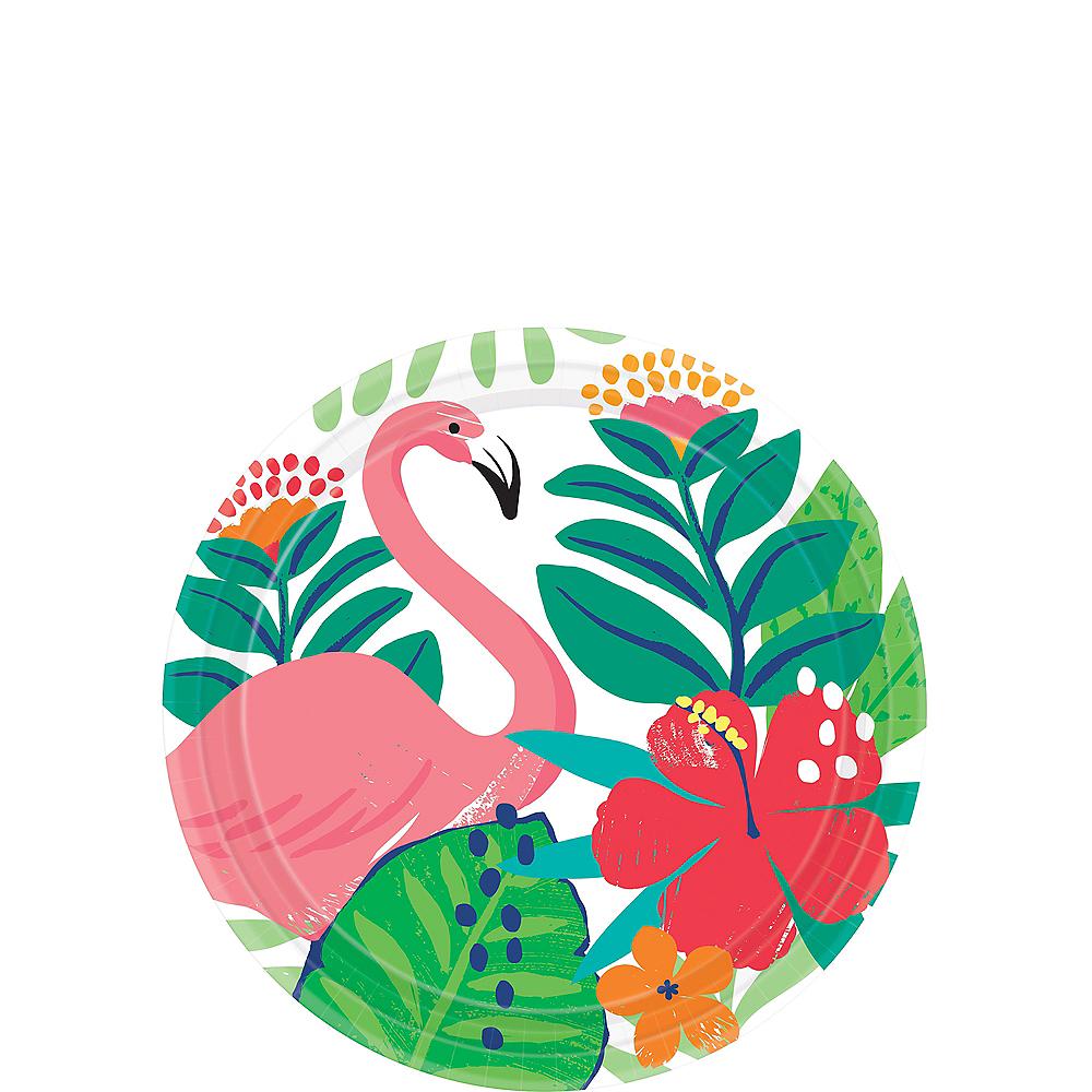 Tropical Jungle Dessert Plates 18ct Image #1