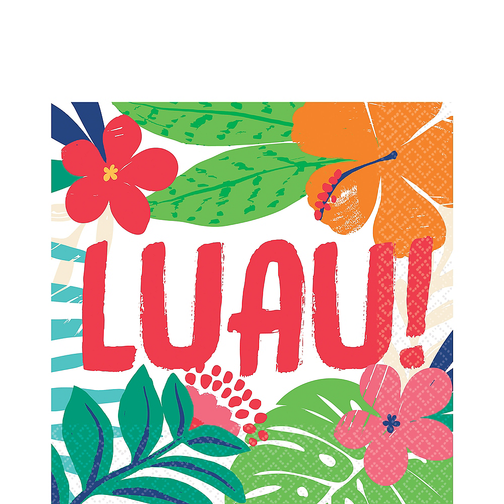 Tropical Jungle Lunch Napkins 36ct Image #1