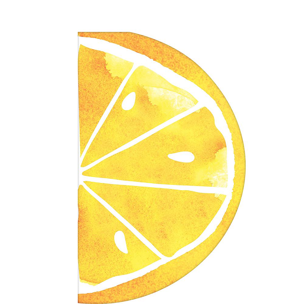 Lemon Slice Lunch Napkins 16ct Image #1