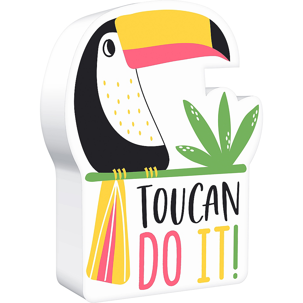 Toucan Block Sign Image #1
