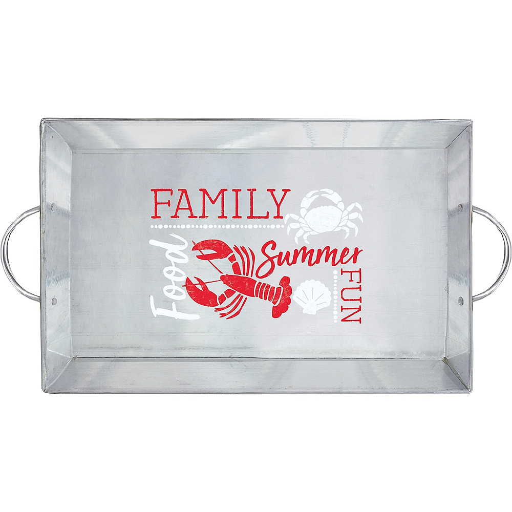 Seafood & Summer Serving Tray Image #1