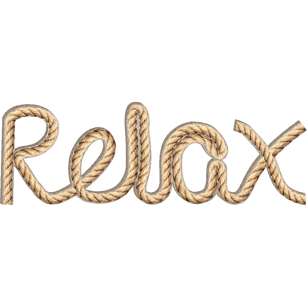 Relax Rope Sign Image #1