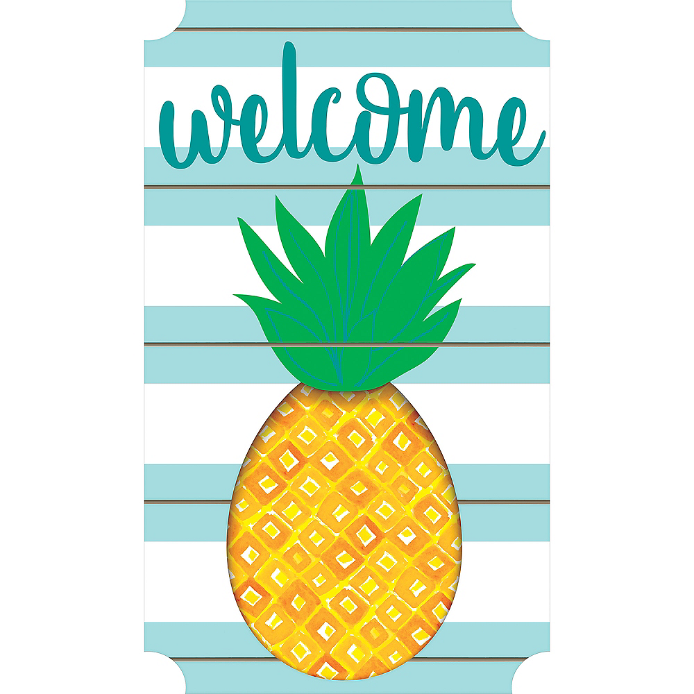 Pineapple Easel Sign Image #1
