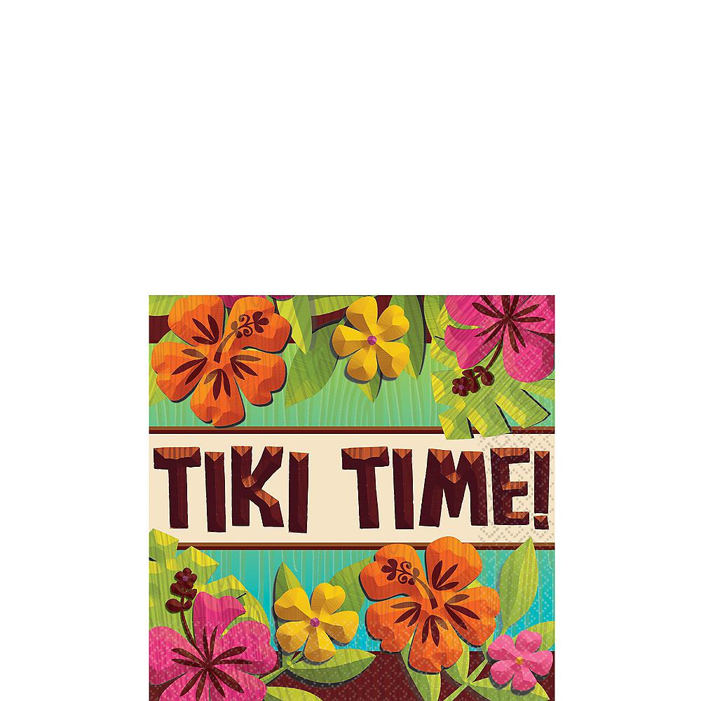 Tiki Time Beverage Napkins 125ct Image #1