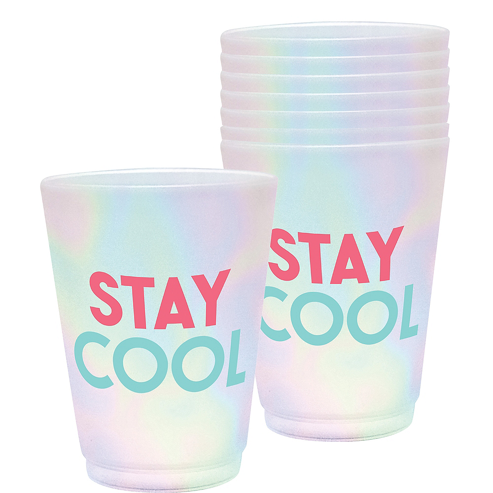 Stay Cool Cups 8ct Image #1
