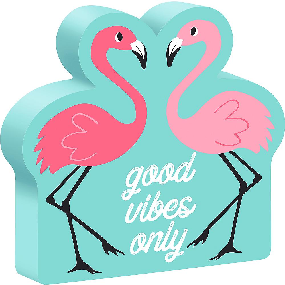 Flamingo Block Sign Image #1